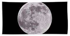 Earth's Moon Hand Towel