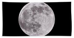 Earth's Moon Bath Towel