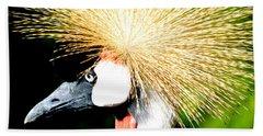 East African Crowned Crane Hand Towel