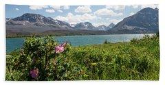 East Glacier National Park Hand Towel