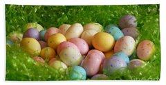 Easter Egg Nest Hand Towel