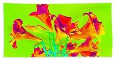Easter Lilies Again Bath Towel