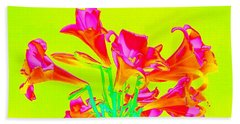 Easter Lilies Hand Towel