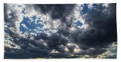 Eastern Montana Sky Hand Towel by Shevin Childers