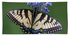 Eastern Tiger Swallowtail Wingspan Bath Towel