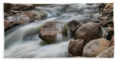Bath Towel featuring the photograph Easy Flowing by James BO Insogna