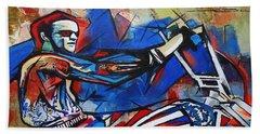 Easy Rider Captain America Hand Towel