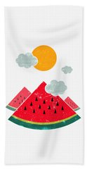 Eatventure Time Hand Towel by Mustafa Akgul