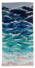Ebb And Flow Hand Towel