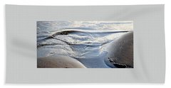 Hand Towel featuring the photograph Ebb Tide by John Glass