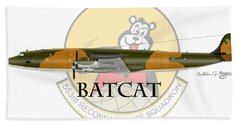 Ec-121r Batcat 553 Bath Towel