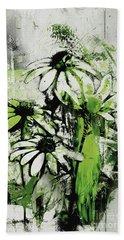 Echinacea - A11bl3c9 Hand Towel