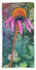 Echinacea Hand Towel