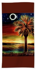 Eclipse 2017 South Carolina Bath Towel