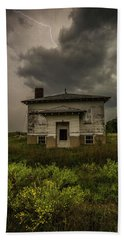 Bath Towel featuring the photograph Eclipse Apocalypse by Aaron J Groen