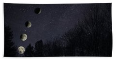 Eclipse Bath Towel by Richard Engelbrecht