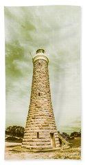 Eddystone Point Lighthouse Bath Towel
