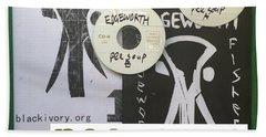 Edgeworth Pee Soup Album Cover Design Hand Towel