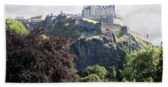Edinburgh Castle Hand Towel