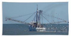 Edisto Island -- Breakfast Buffet Bath Towel