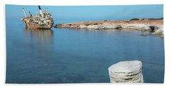 Edro IIi Shipwreck - Cyprus Hand Towel