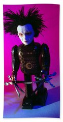Edward Scissorhands Robot Bath Towel