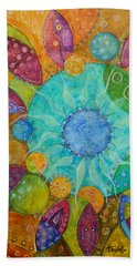 Effervescent Bath Towel by Tanielle Childers