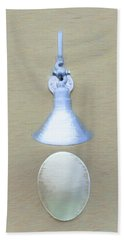 Bath Towel featuring the photograph Egg Drop Lamp by Gary Slawsky
