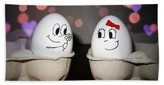 Egg Photographs Bath Towels