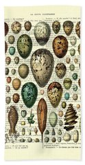Eggs Collection Hand Towel