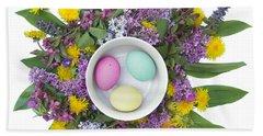Eggs In A Bowl Bath Towel