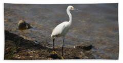 Egret 1 Bath Towel