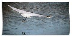 Egret Flight Plan Hand Towel