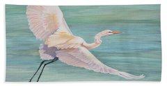 Egret Bath Towel