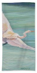 Egret Bath Towel