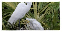 Egret Nest Hand Towel