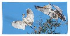 Egrets 4460-090314-2cr Gwr Bath Towel