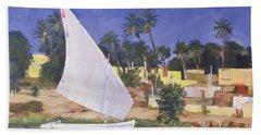 Egypt Blue Hand Towel