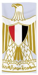 Egypt Coat Of Arms Bath Towel by Movie Poster Prints
