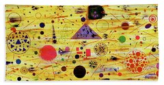 Hand Towel featuring the painting Egyptian Sunrise by Michael Lucarelli