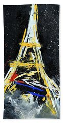Eiffel Bath Towel