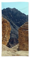 Hand Towel featuring the photograph Eilat-israel by Denise Moore