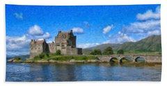 Eilean Donan Castle - Sct671252 Bath Towel