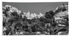 El Capistrano, Nerja Bath Towel by John Edwards