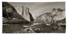 El Capitan Hand Towel by Joseph G Holland