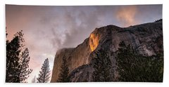El Capitan Sunset Bath Towel