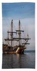 Hand Towel featuring the photograph El Galeon Andalucia by Dale Kincaid