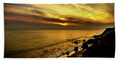 El Matador Beach Sunset Bath Towel