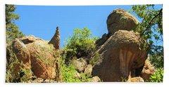 Elden Mountain Monoliths Hand Towel
