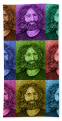 Electric Jerry - Wall Of Color Hand Towel
